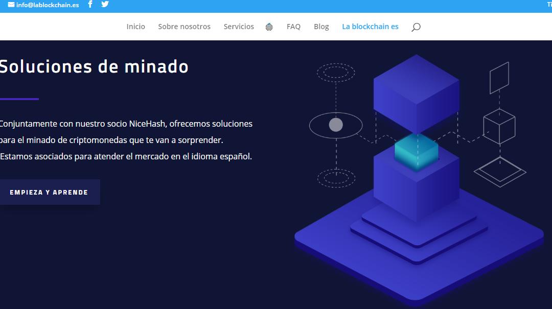 Nueva web Asociación Blockchain España